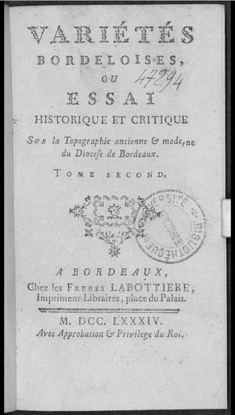 File:Baurein - Variétés Bordeloises tome 2.pdf