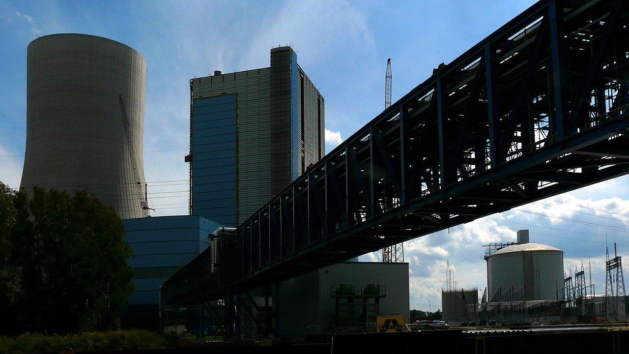 Baustelle des Kraftwerksneubau Datteln IV.jpg