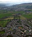 Bearsden from the air (geograph 5186835).jpg