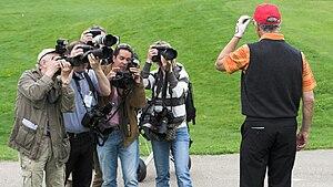 Photographer - Image: Beckenbauer Pressefotografen 2