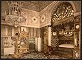 Bedchamber of the late Bey of Tunis, Kasr-el-Said, Tunisia-LCCN2001699372.jpg