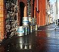 Beer kegs, Belfast - geograph.org.uk - 1770138.jpg