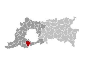 Beersel - Image: Beersel Locatie