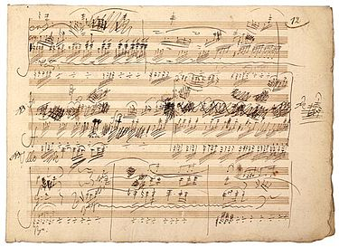 "Manuscript of the ""Ghost"" Trio, Op. 70, No. 1, by Beethoven BeethovenGhostManuscript.jpg"