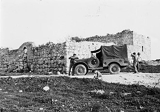"""Operation Ha-Har - Harel 4th Battalion west of the """"Joint"""" military outpost, at commencement of operation"""