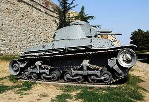 Belgrade Military Museum - PzKpfw 35(t).JPG