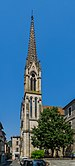Bell tower of the Saint-Antonin Church SANV 01.jpg