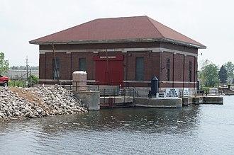 Huron River (Michigan) - French Landing Dam and Powerhouse