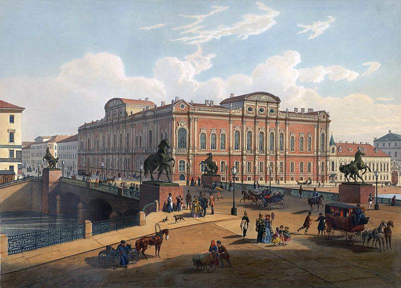File:Beloselsky-Belozersky Palace and Anichkov Bridge St. Petersburg.jpg