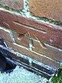 Benchmark on ^75 Sunningwell Road (Wytham Street) - geograph.org.uk - 2052720.jpg