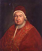 Pope Benedict XIV.