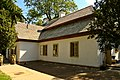 Benedykt Górski manor, Rzgowska 247 Street, Łódź, back 02.jpg