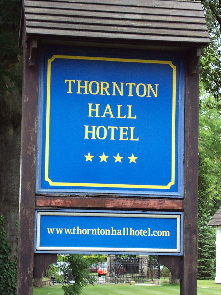 Thornton Hall Hotel And Spa Thornton Hough Wirral