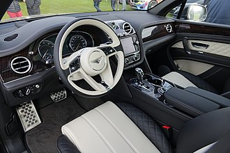Bentley Bentayga - Interior