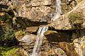 Bergtocht van Peio Paese naar Lago Covel (1,839 m) in het Nationaal park Stelvio (Italië). Waterval boven Lago Covel.jpg