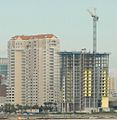 Berkman Plaza, construction on 2, JAX 2008.jpg