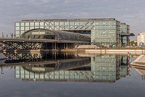 Berlin Hauptbahnhof - Berlin Hauptbahnhof Ostseite HDR