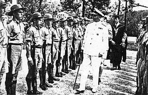 Bermuda Cadet Corps - Bermuda Cadet Corps in Second World War