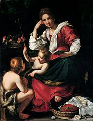 Madonna and Child with Infant Saint John
