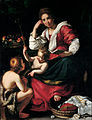 Bernardo Strozzi - Madonna and Child with Infant Saint John - Google Art Project.jpg