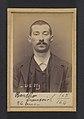 Bertho. François, Élie. 26 ans, né le 30-9-67 à Jallais (Maine & Loire). Employé. Anarchiste. 9-3-94. MET DP290160.jpg