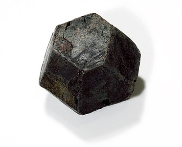 Batafite octahedron crystal