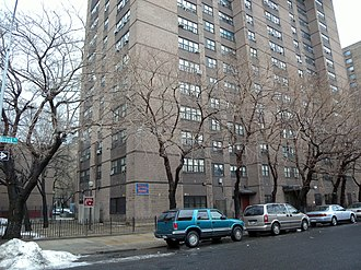 Mott Haven, Bronx - NYCHA Betances Houses on Brook Avenue