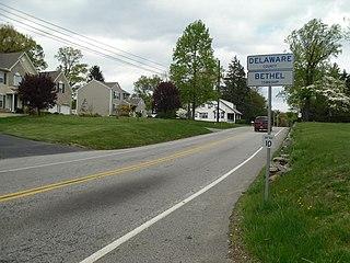 Bethel Township, Delaware County, Pennsylvania Township in Pennsylvania, United States