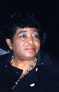 Betty Shabazz American educator and civil rights advocate
