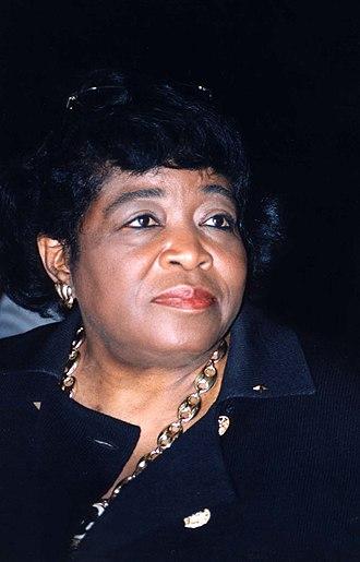 Betty Shabazz - Shabazz in 1996