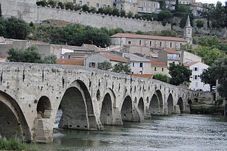 Béziers - The old bridge