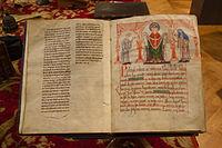 Bibliothèque du Grand Séminaire de Strasbourg Codex Guta-Sintram, 1154-01.jpg