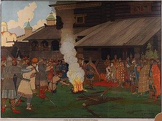 Vsevolod I of Kiev - Kievan court in the times of Vsevolod I