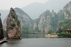 Bingyu-Valley Liaoning China Rock-formation-01.jpg