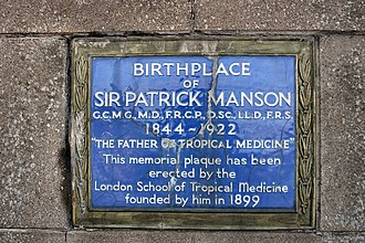 Patrick Manson - Birthplace of Sir Patrick Manson