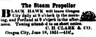<i>Black Hawk</i> (steamboat 1850) steamboat