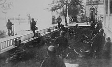 Black Reichswehr fighting Polish forces during the Poland Uprising 1919.jpg