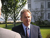 Tony Blair, en 2007.