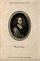 Blaise Pascal. Line engraving by Walker, 1789, after G. Edel Wellcome V0004508ER.jpg