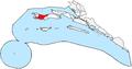 Blato na Korčuli municipality map.PNG