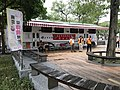 Blood donation station in New Park, Taipei 20171020.jpg