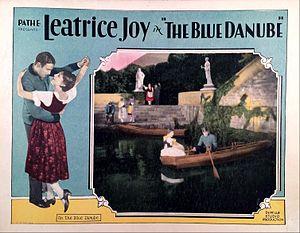 The Blue Danube (1928 film) - Lobby card