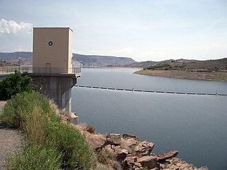 Blue Mesa Dam - Blue Mesa Reservoir