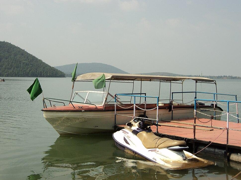 Boats at Dam