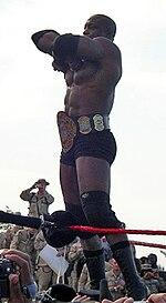 Bobby Lashley, the ECW World Champion heading into No Way Out.