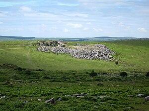 Minions, Cornwall - Image: Bodmin Moor Quarry 01