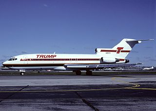 Trump Shuttle Former air shuttle service