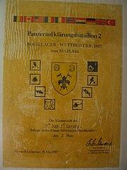 Boeselager Urkunde