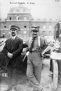 Georges Boillot French racing driver
