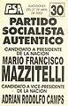 Boleta elecciones argentinas de 2003 - PSA.jpg